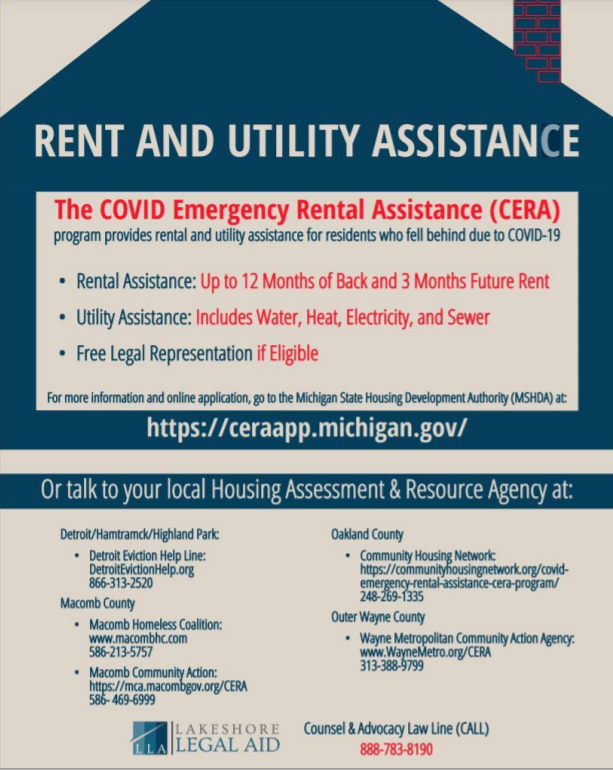 rent and utility assistance